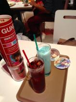 This is the Kira and Athrun drink. They are very sweet but have a distinct flavor.