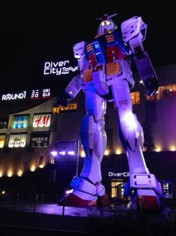 rx-78 at night