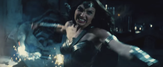 Enraged Wonder Woman
