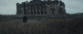 Wayne Manor in ruins
