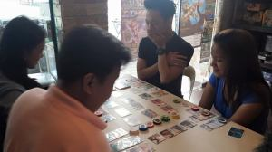 Splendor players at Neutral Grounds Centris