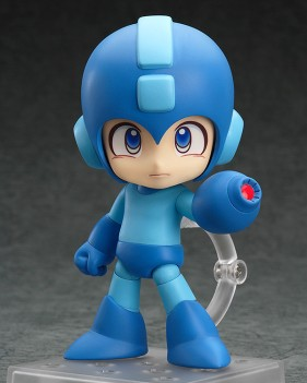 Nendoroid Megaman from Good Smile Company website - http://www.goodsmile.info/en/product/5208/Nendoroid+Mega+Man.html